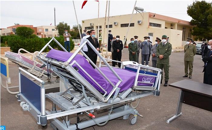 30 lits médicalisés remis à l'hôpital provincial de Jerada