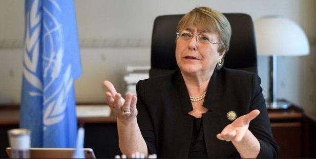 Michelle Bachelet : La pandémie n'est pas un chèque en blanc pour bafouer les droits humains