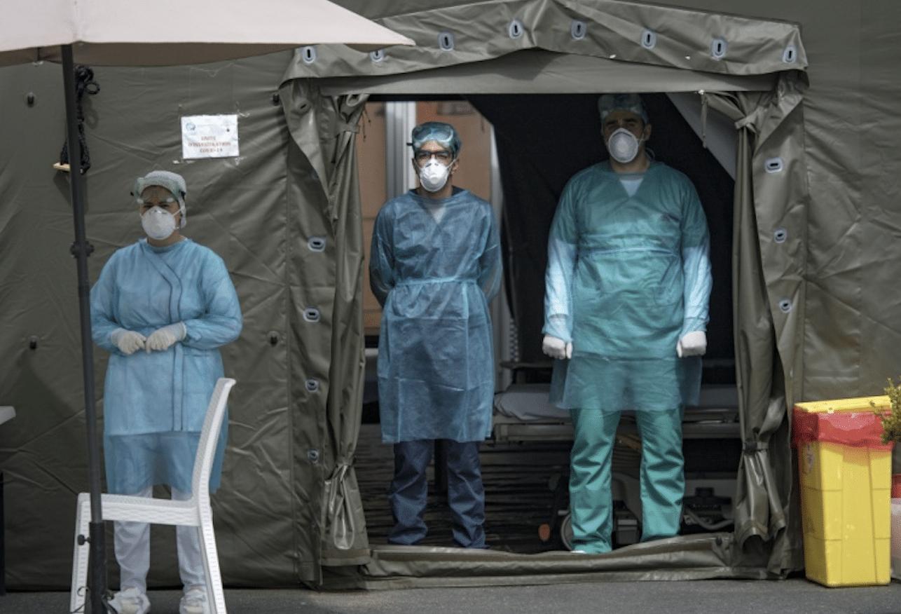 Les médecins militaires prêts à traiter l'afflux des patients