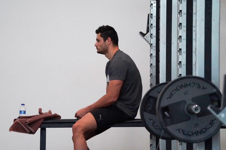 Ces kilos en trop qui menacent les sportifs à la reprise
