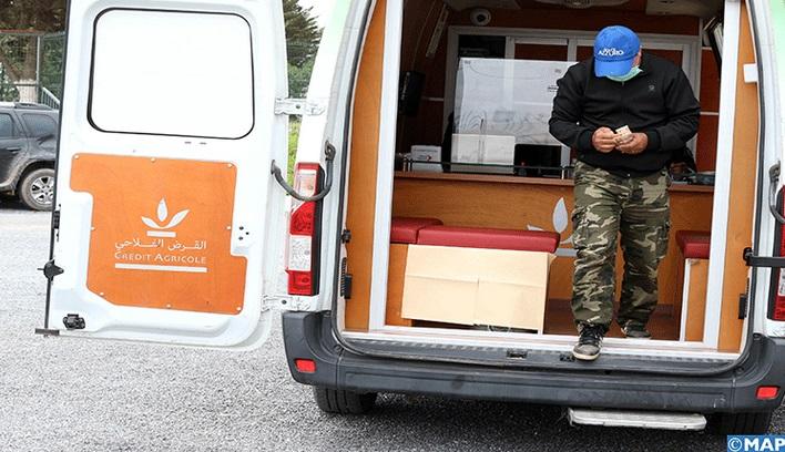 Unités bancaires mobiles à Khénifra