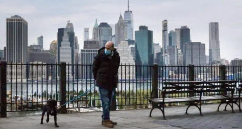 Du 11 septembre 2001 au coronavirus, New York de nouveau mis à l'épreuve