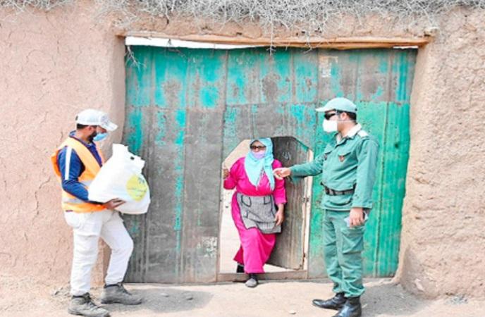 Poursuite de l'opération de distribution des aides alimentaires du Ramadan