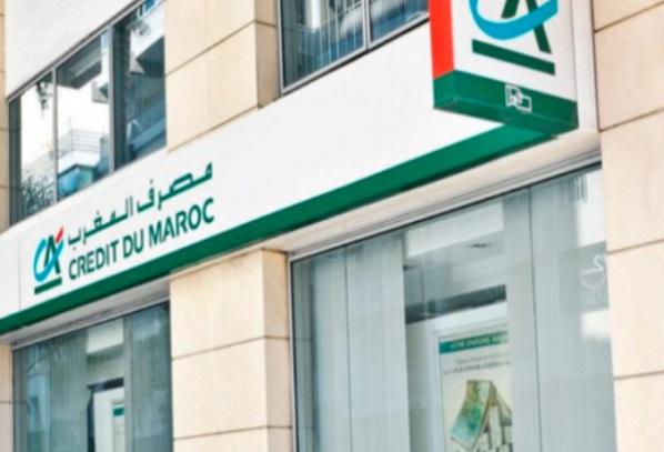 Le RNPG du Crédit du Maroc ressort en baisse au premier trimestre