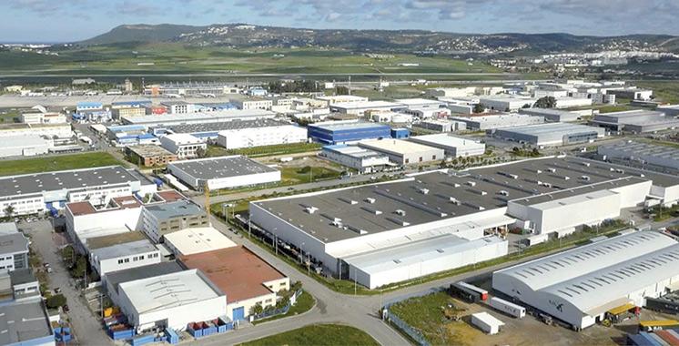 Les unités de production reprennent  leurs activités industrielles à Tanger