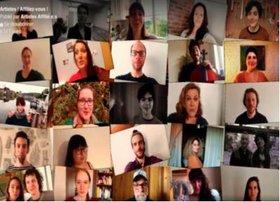 Les artistes belges appellent à l'aide