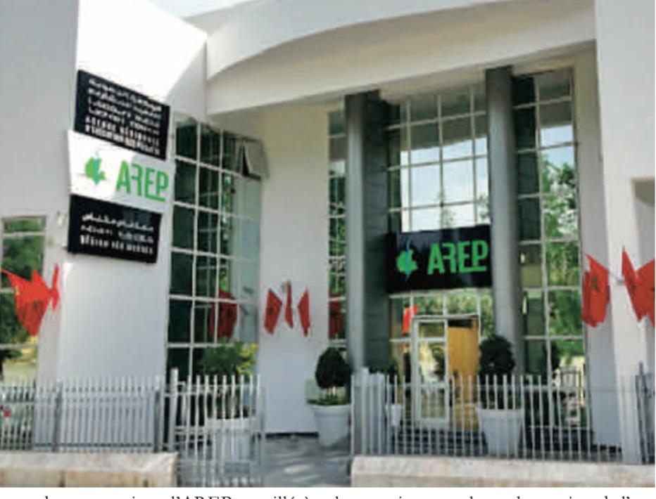 L'AREP supervise 166 projets d'un milliard de DH