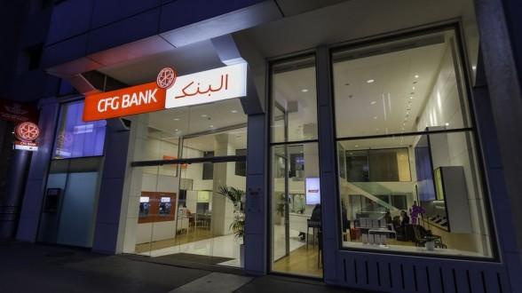 Progression du PNB de la CFG Bank au premier trimestre