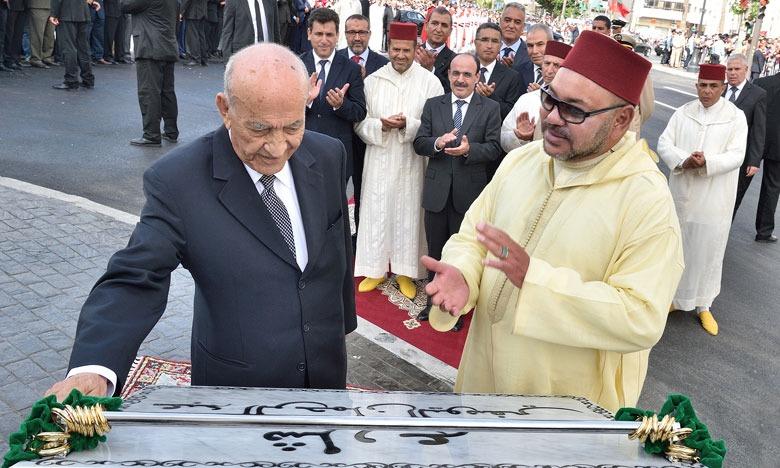 Message de condoléances de SM le Roi à la veuve du grand militant, feu Abderrahmane El-Youssoufi