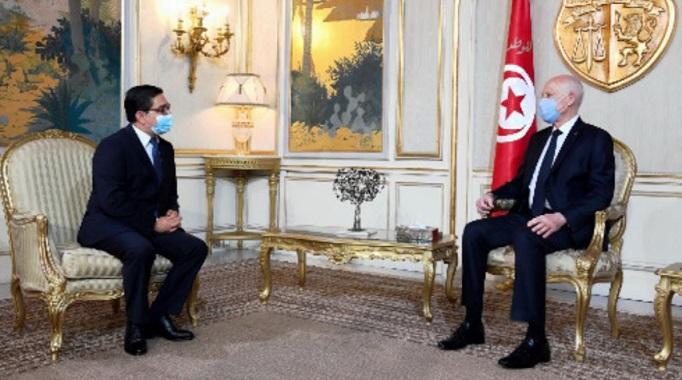 Message Royal au Président tunisien