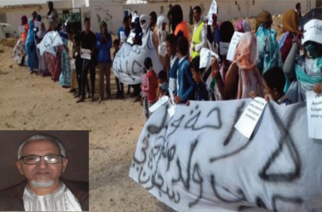 Manifestations à répétition dans les camps de Tindouf pour la libération de Mohamed Salahi