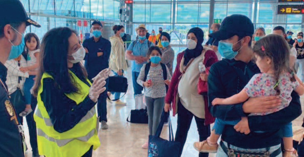 Nouvelle opération de rapatriement des Marocains bloqués en Espagne