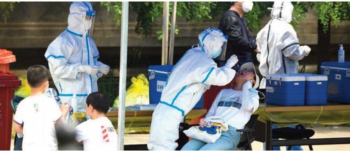 La situation épidémique est extrêmement grave à Pékin