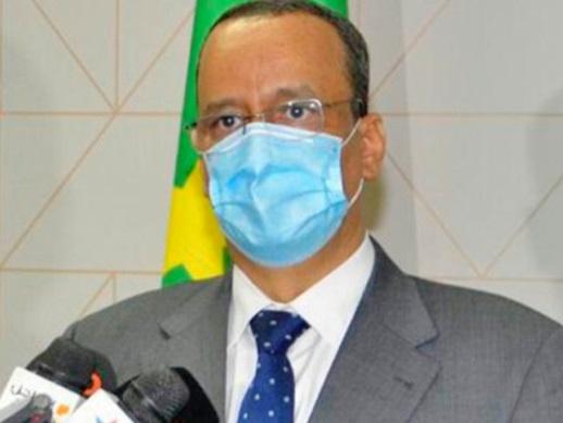 Ismail Ould Cheikh Ahmed, ministre des A.E, de la Coopération et des Mauritaniens de l'étranger