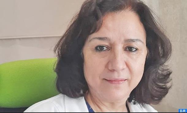 Majida Zahraoui, professeur de médecine interne, pathologies infectieuses et médecine tropicale