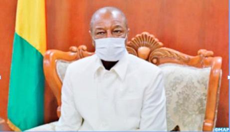 Le président guinéen Alpha Condé : Nos relations avec le Maroc sont très importantes