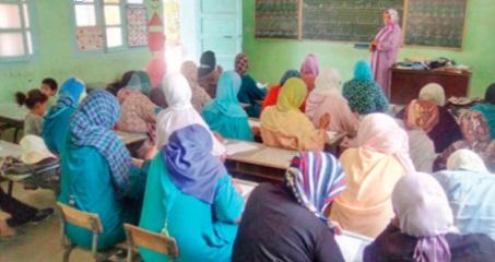 Intégration des droits de l'Homme  dans les programmes d'alphabétisation