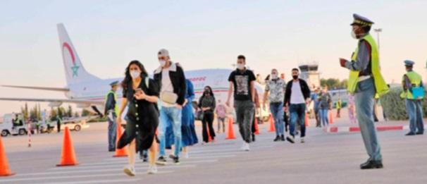 Un troisième groupe de Marocains rapatriés de Turquie