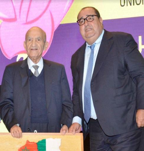 Driss Lachguar lors d'une réunion avec les membres du Conseil de la région de l'Oriental