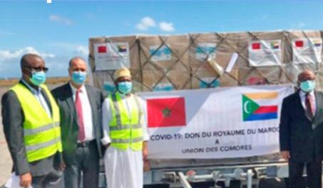 Azali Assoumani, président de l'Union des Comores : Ce que fait Sa Majesté le Roi  en Afrique est extraordinaire