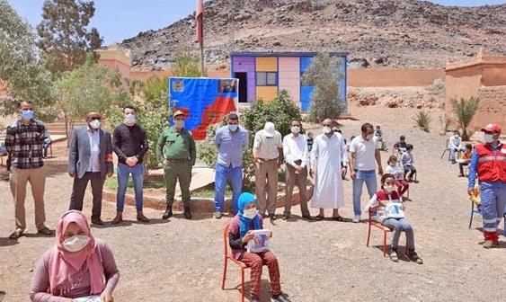 Des tablettes distribuées aux élèves ruraux d'Agadir