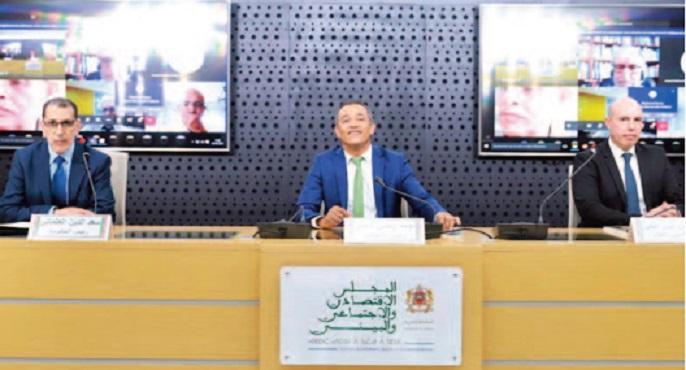 Le Conseil économique, social et environnemental tient son assemblée générale