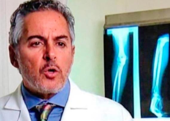 Eric Hazan-Lasri, directeur des urgences  à l'Institut national de la santé au Mexique