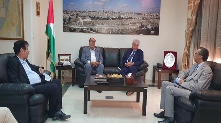 Les médias palestiniens se félicitent de l'initiative du Premier secrétaire de l'USFP