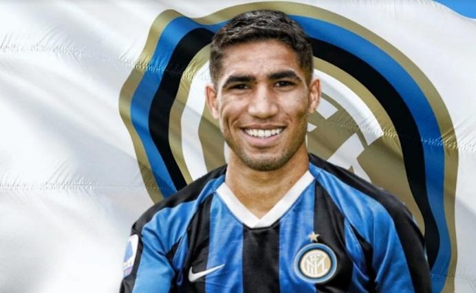 Achraf Hakimi débarque à l'Inter Milan