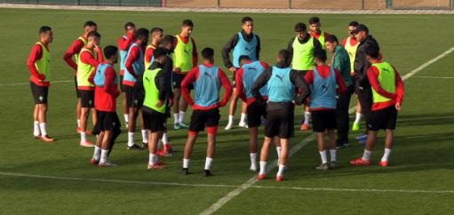 Stage de l'EN de futsal au Complexe Mohammed VI de football
