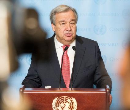 Le secrétaire général de l'ONU félicite le Maroc