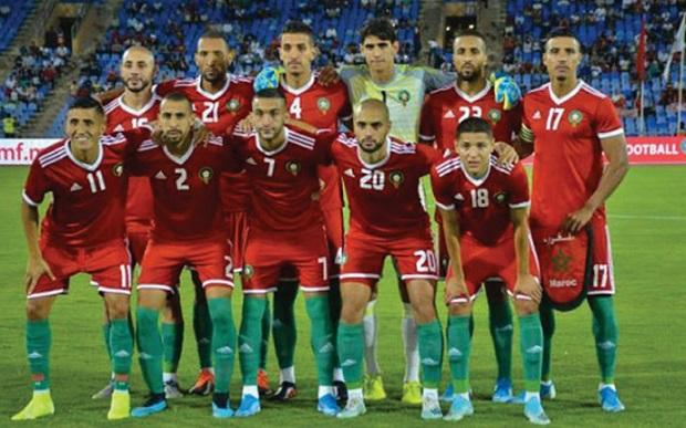 Le Onze national conserve sa 43ème place au classement FIFA