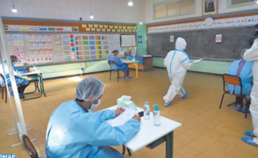 Des candidats infectés par le coronavirus passent le concours d'accès à l'Institut de formation des cadres du ministère de l'Intérieur