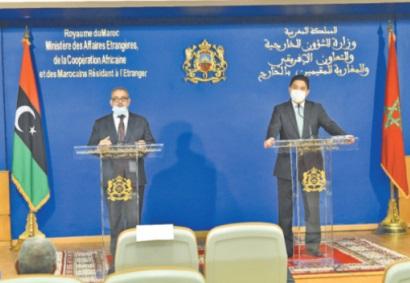 Le président du Haut conseil d'Etat libyen reçu par le chef de la diplomatie marocaine