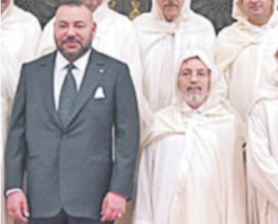 Message de condoléances  de S.M le Roi à la famille de feu Mohamed El Haloui