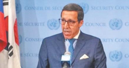 Omar Hilale : Grâce à la vision clairvoyante de S.M  le Roi, le Maroc poursuit son rayonnement à l'ONU