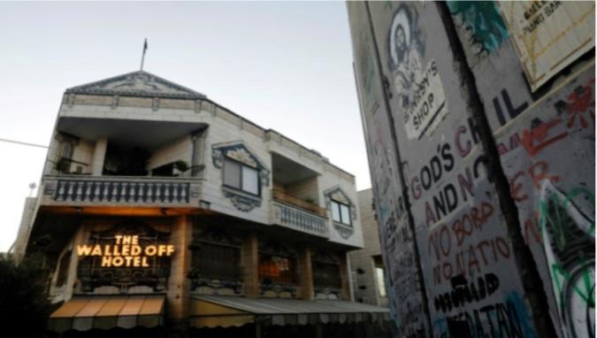 Un Banksy vendu aux  enchères au  profit d'un  hôpital de  Bethléem