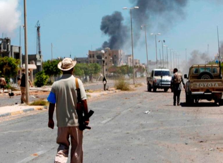 La Libye cible de  folies hégémoniques