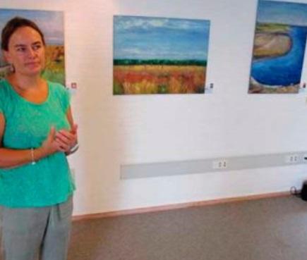 Les œuvres de l'artiste danoise Lene Wiklund illuminent l'espace Dar Souiri