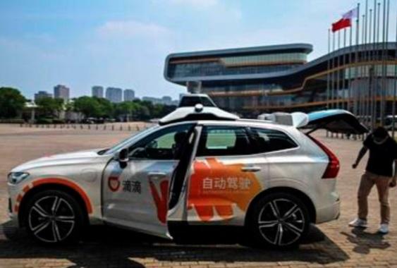Le robotaxi sans chauffeur débarque à Shanghai