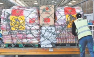 Distribution des aides marocaines aux  victimes de l'explosion du port de Beyrouth