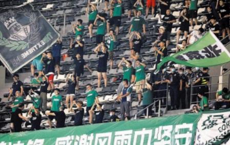 Les supporters chinois de retour dans les stades