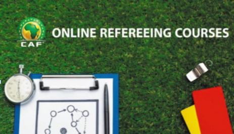 La Confédération africaine diffuse des formations d'arbitrage en ligne