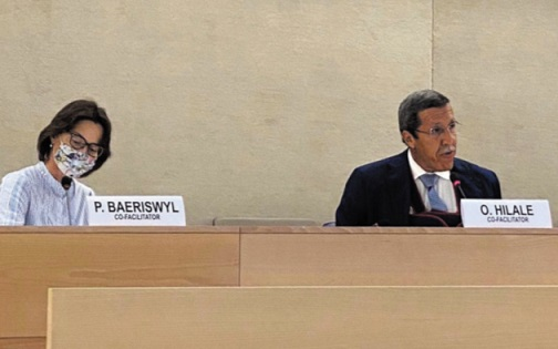 Le Maroc et la Suisse co-président des  consultations sur les droits de l'Homme à Genève
