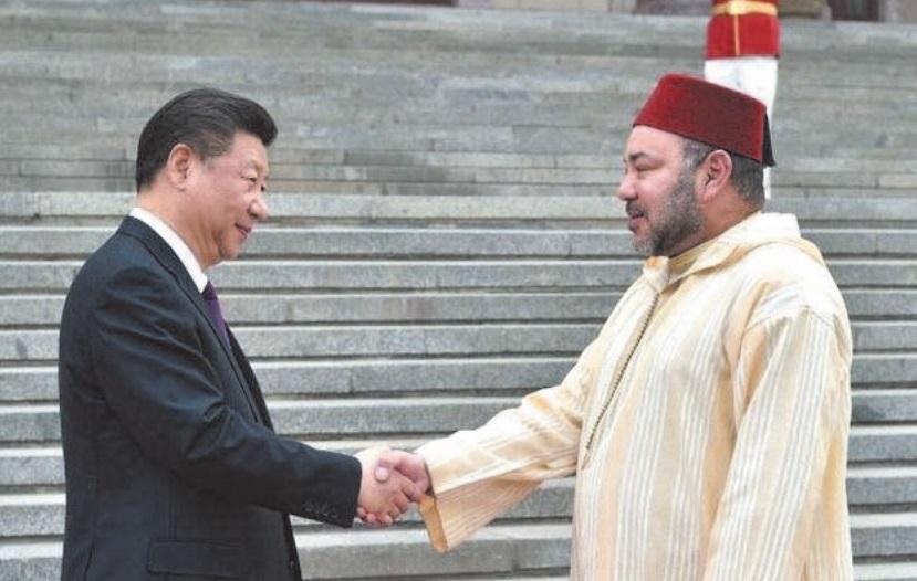 S.M le Roi s'entretient par téléphone avec le président chinois