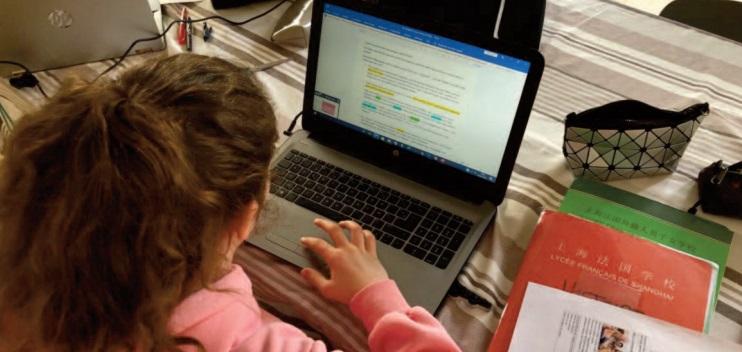 Sans cartable numérique, trop virtuel l'apprentissage distanciel