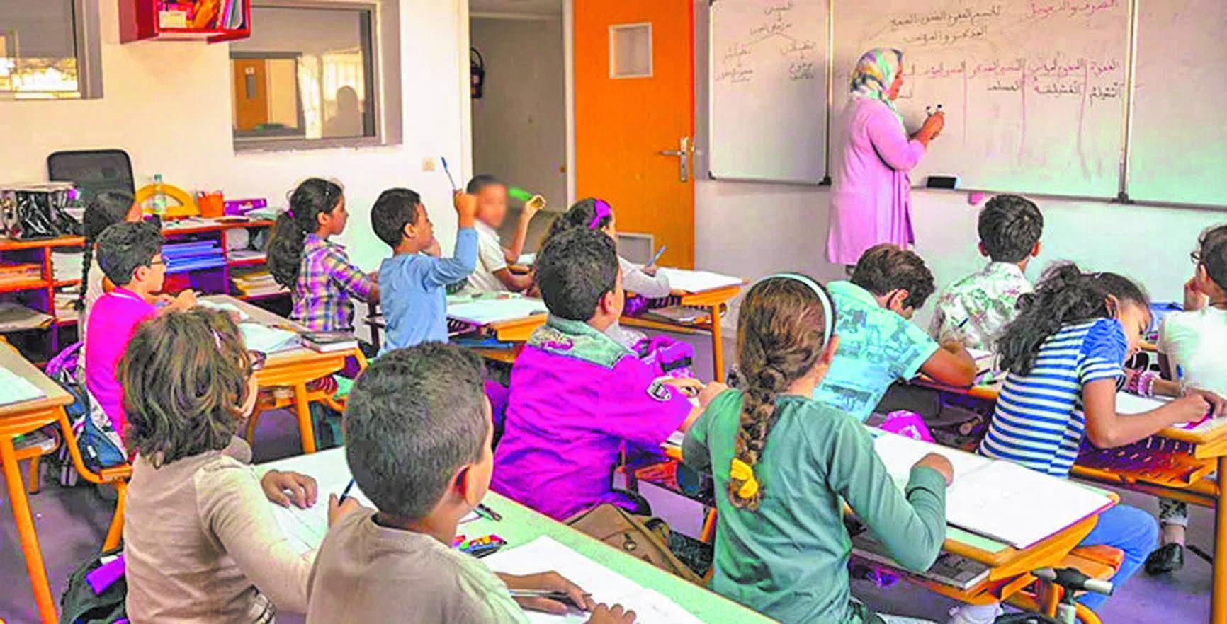 Plus de 80% des familles ont opté pour l'enseignement présentiel