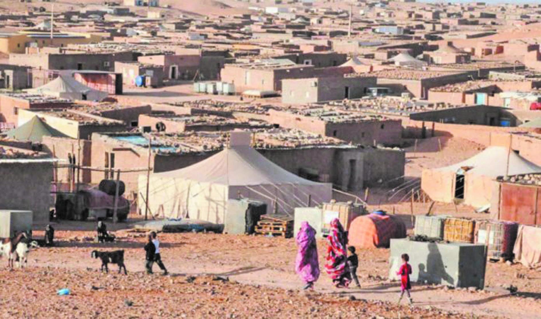 La guerre des pantins chefs secoue les camps de Tindouf
