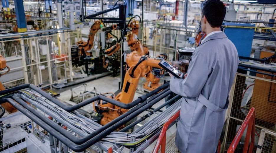 L' activité s ' améliore progressivement dans l'industrie