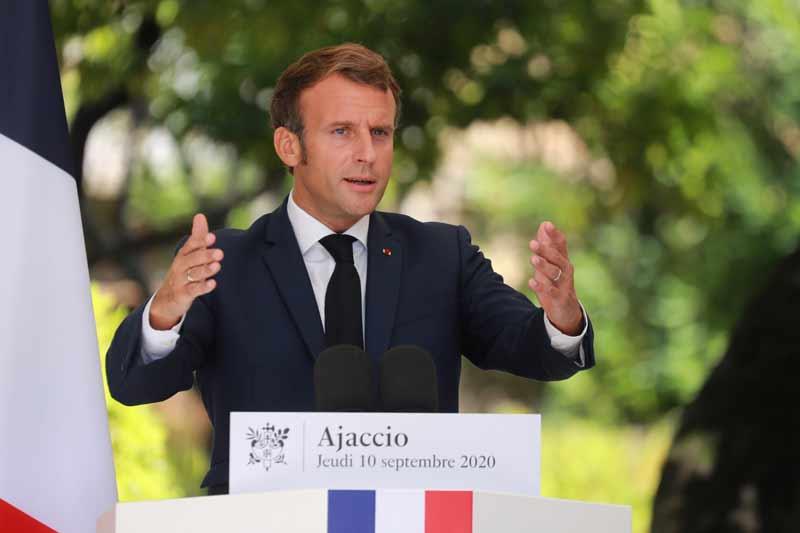 Macron appelle l'UE à faire front commun face à la Turquie